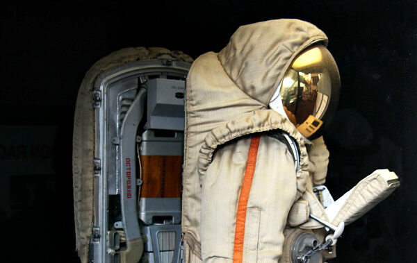 A Soviet Space Suit For The Unreachable Moon