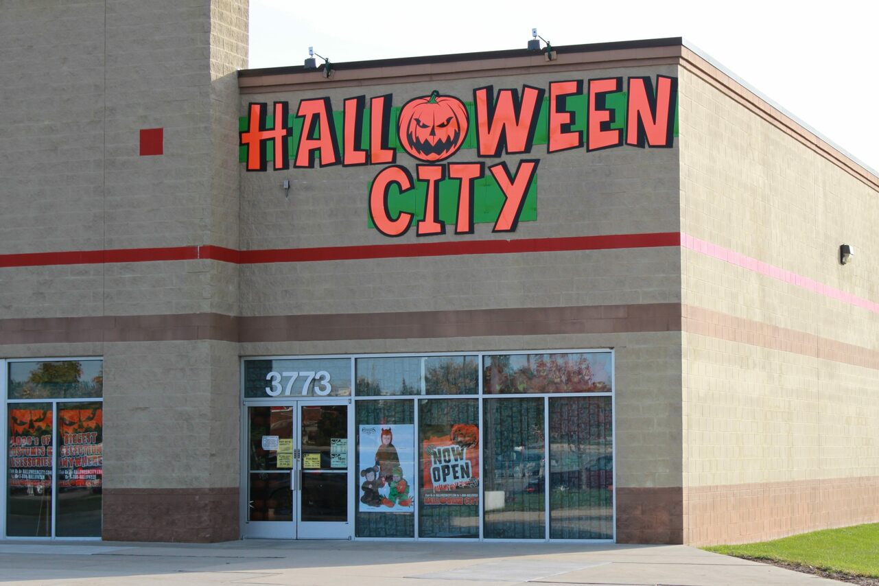 A Halloween pop-up in Michigan.
