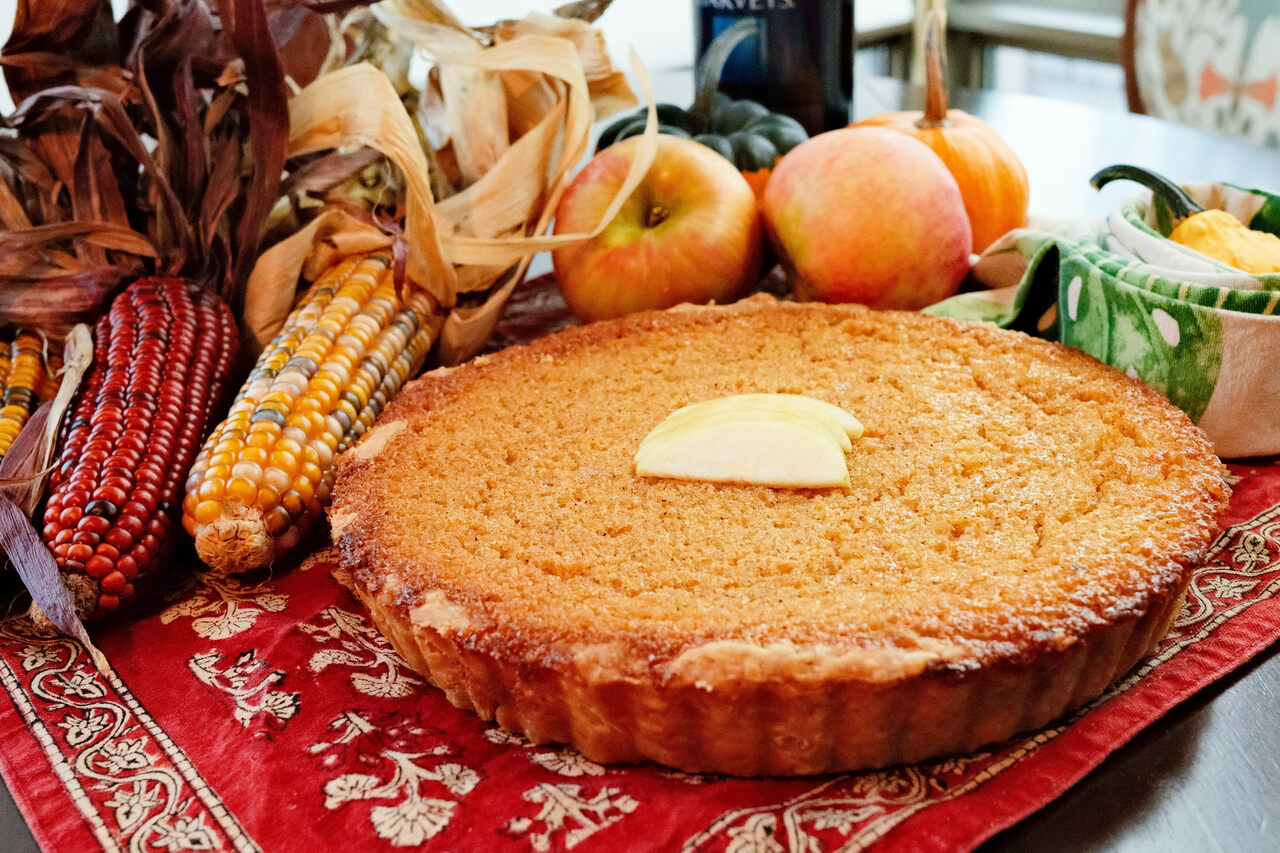 It's a pie. It's a pudding. It's a forgotten holiday classic.