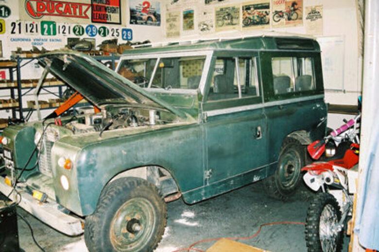For Sale: The Dalai Lama's 1966 Land Rover