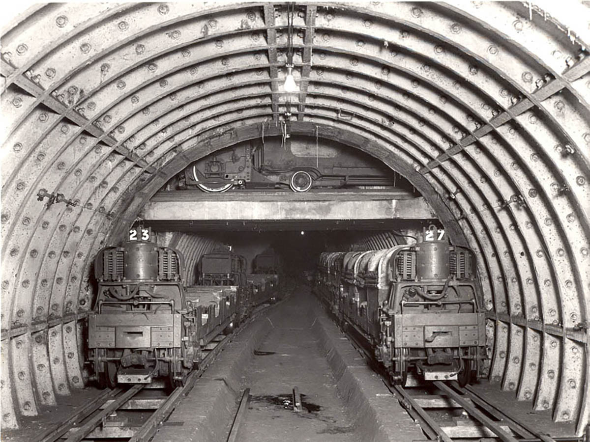 London's Mail Rail ran for 6.5 miles between sorting offices underneath the capital.