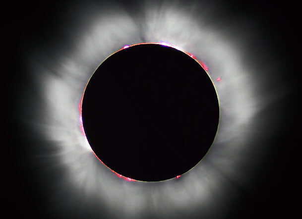 The total solar eclipse of 1999, in France.