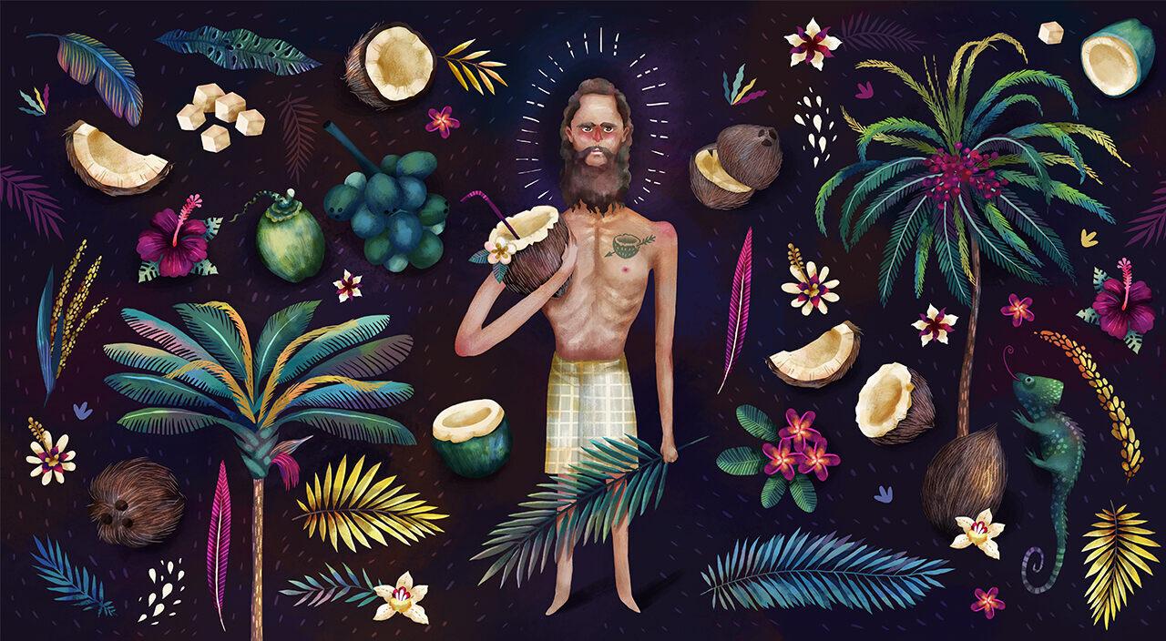 August Engelhardt believed coconuts were divine.