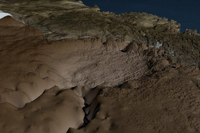 A Massive Meteorite Crater Has Been Hiding Under Greenland's Ice