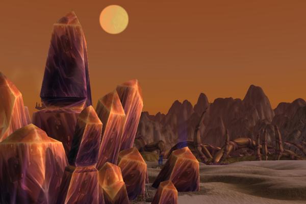 World of Warcraft's Beautiful Ruins