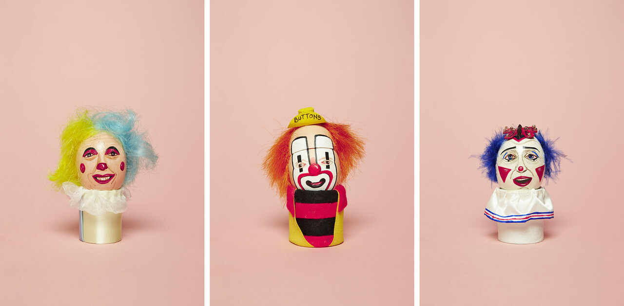 Why Smart Clowns Immortalize Their Make-up Designs on Ceramic Eggs