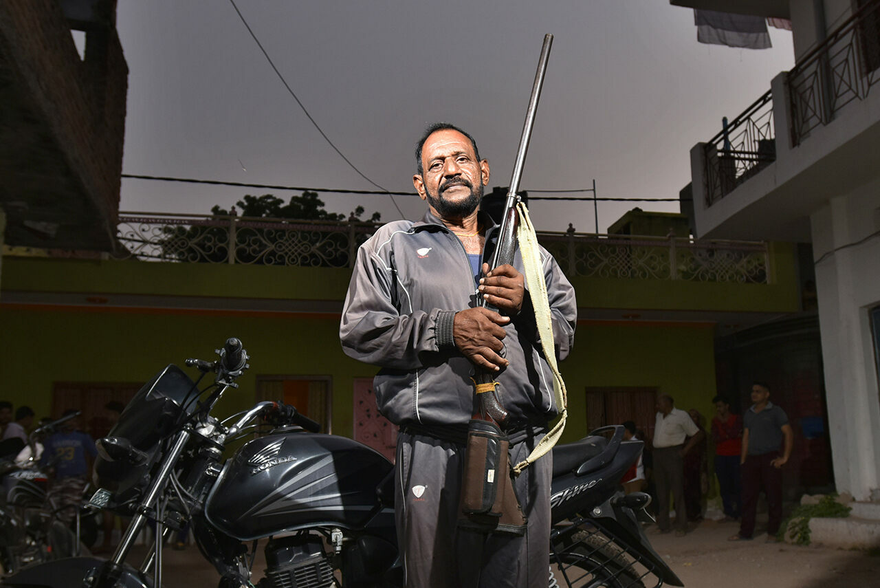 Former armed bandit Balwant Singh Tomar (nephew of the famed Paan Singh Tomar) now leads a quieter life.