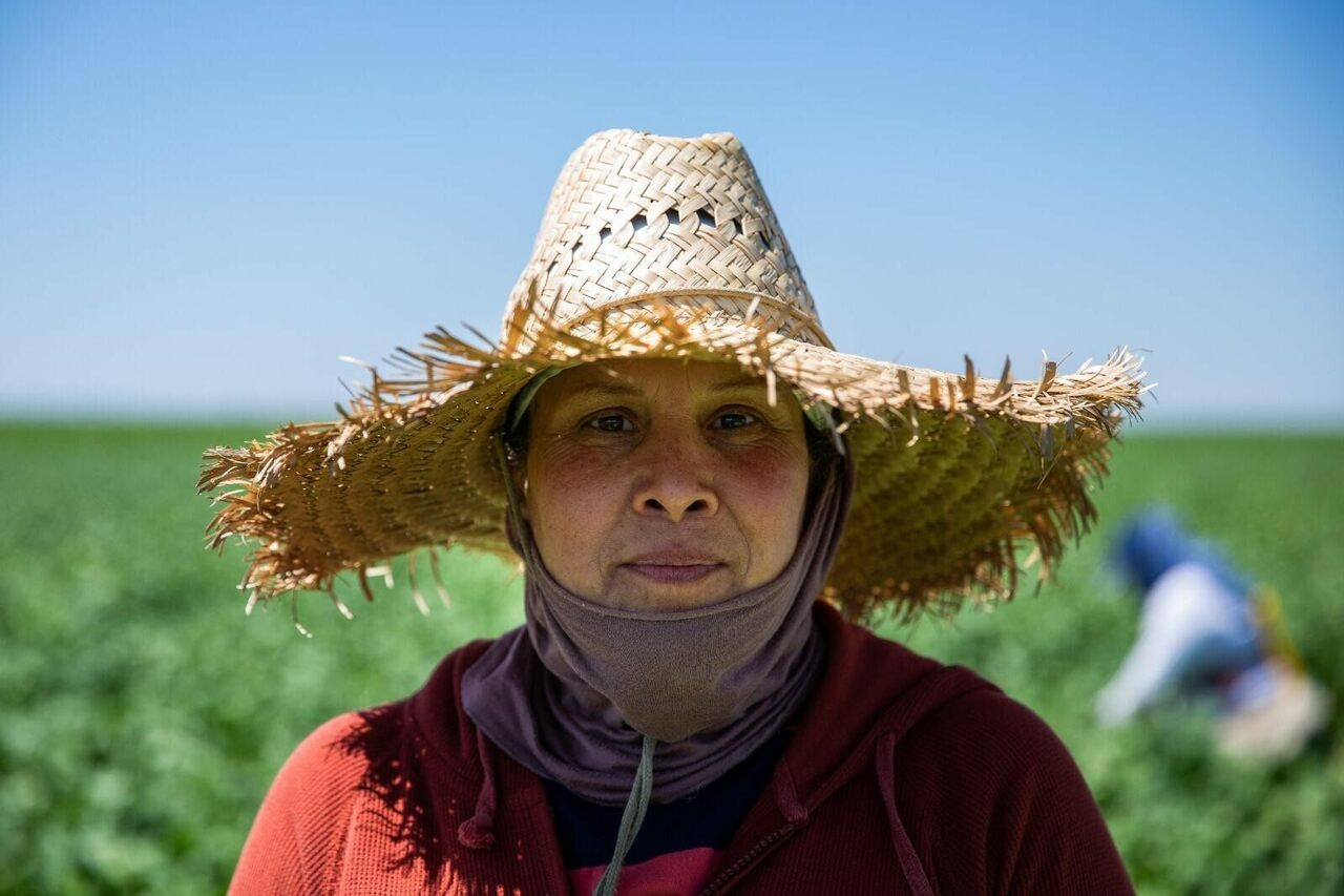 """Agricultural workers have been classified as """"essential,"""" but most labor for extremely low wages."""