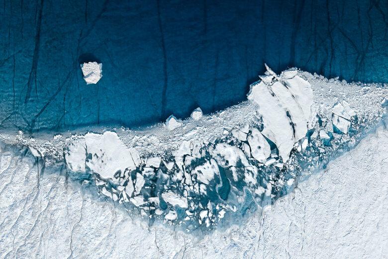 Exploring the Tragic Beauty of Greenland's Melting Ice Sheets