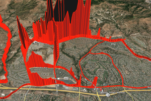 A Map of Methane Levels Near the Massive Gas Leak in L.A.