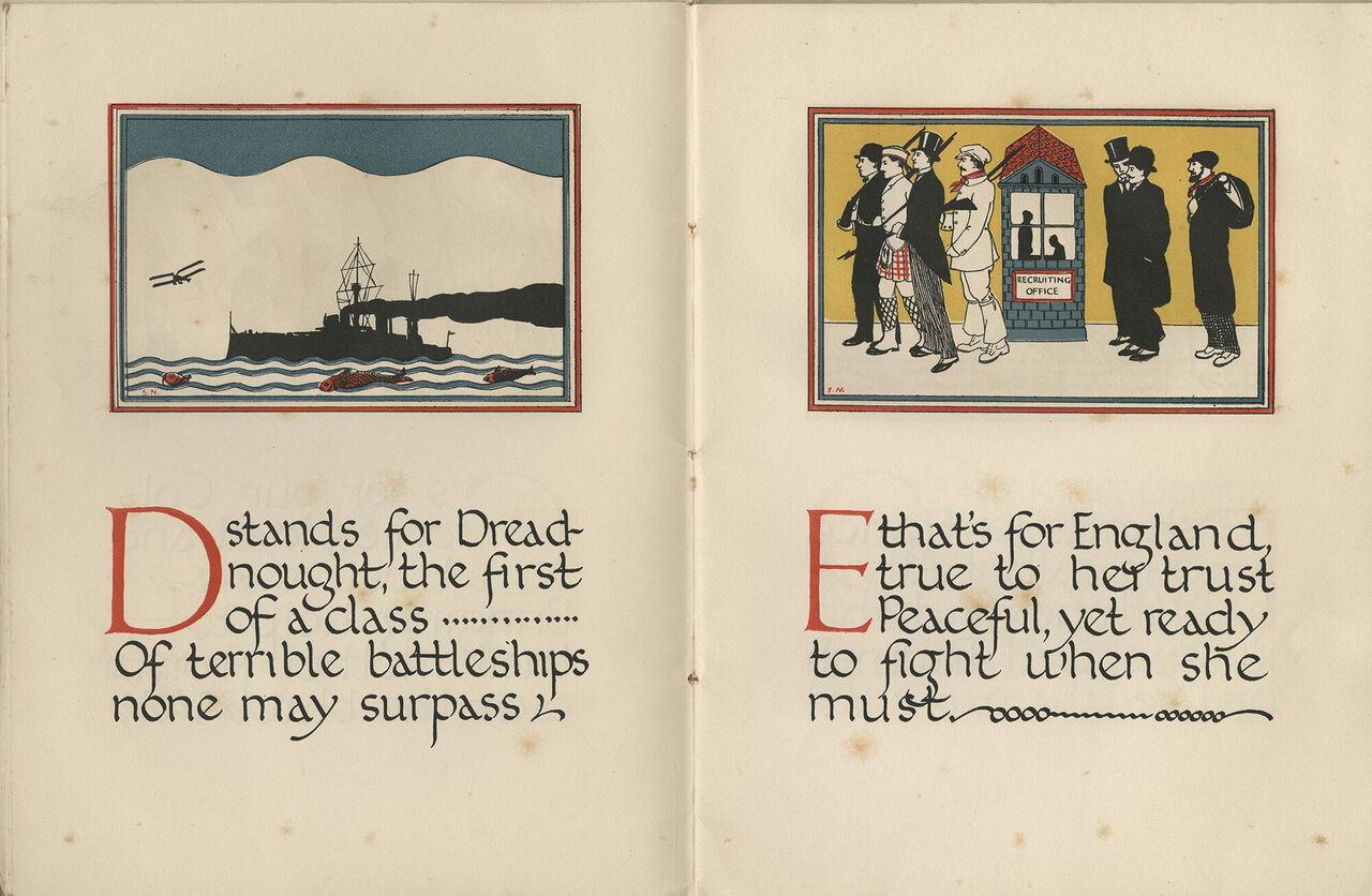 From <em>The Child's ABC of War</em>, 1914.