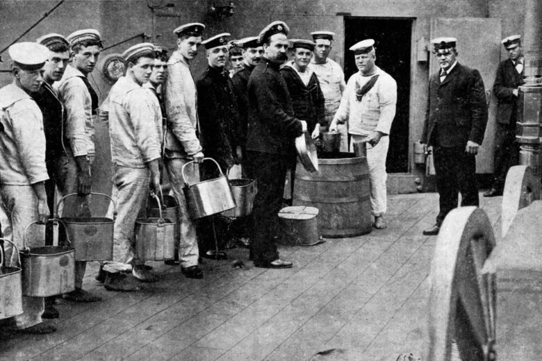 Why British Royal Navy Sailors Preferred Their Booze on Fire
