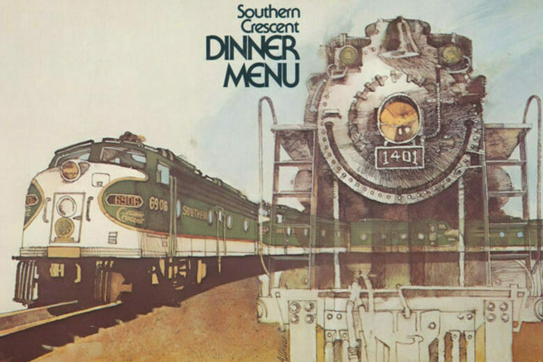 A Newly Digitized Menu Collection Shows Off America's Lost Railroad Cuisine