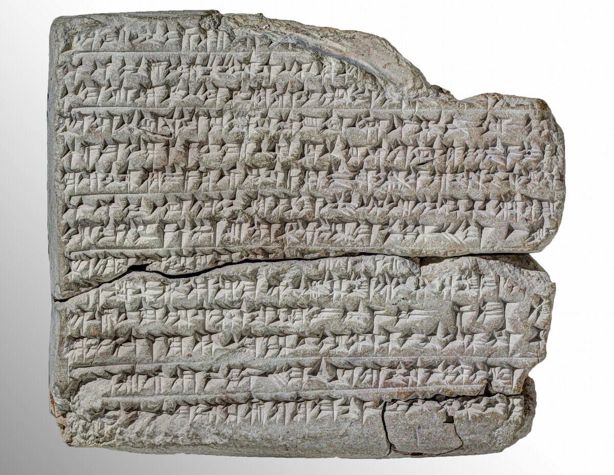 A Late Babylonian tablet spelling out a ritual to quiet a crying child.