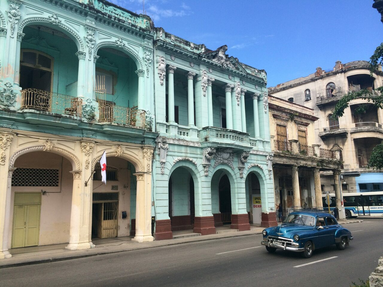 Centro Habana heading towards the Barrio Chino, home of the old Shanghai Theatre.