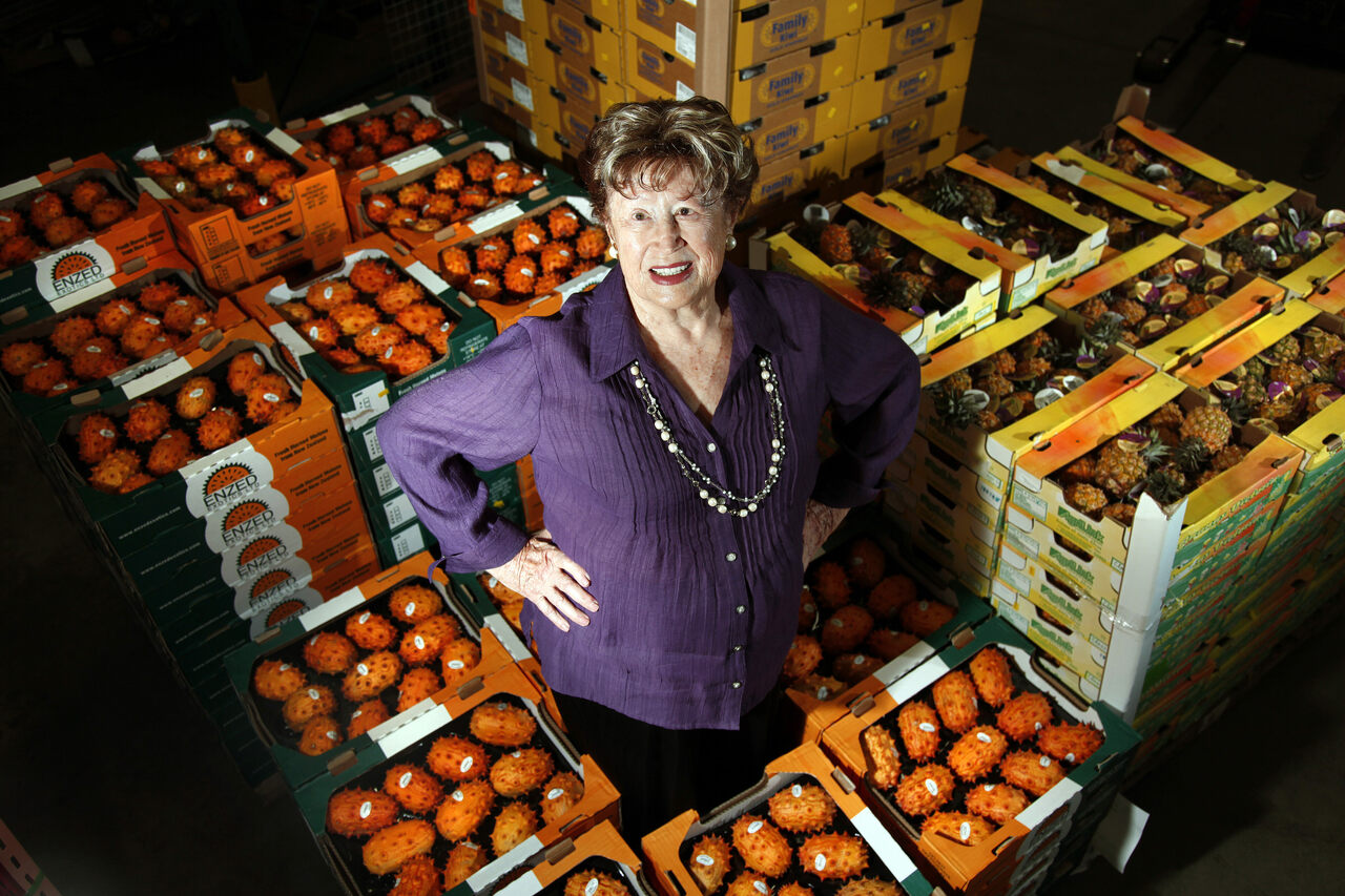 Dr. Frieda Rapoport Caplan forever changed American produce aisles.