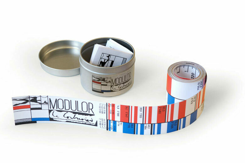 Le Corbusier's Special Measuring Tape Is Making a Comeback