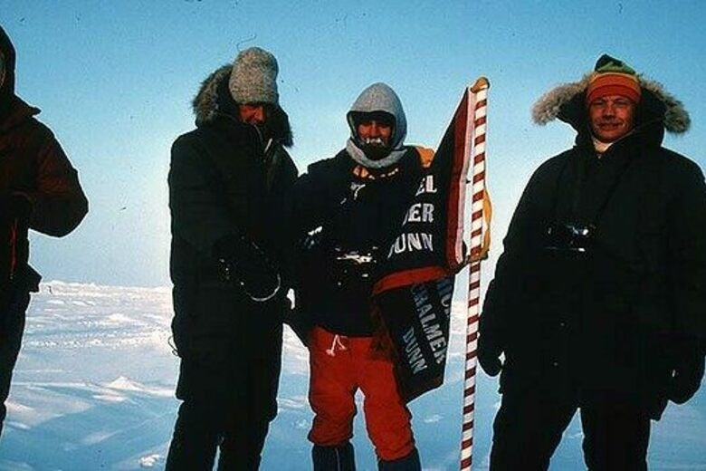 When Neil Armstrong and Edmund Hillary Took a Trip to the North Pole