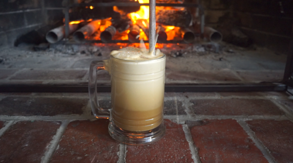 Make a Colonial American Cocktail With Ale, Rum, and Fire