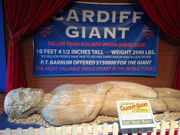 Picture - Podcast: Magical Summer Memories Vol. 3 - The Cardiff Giant