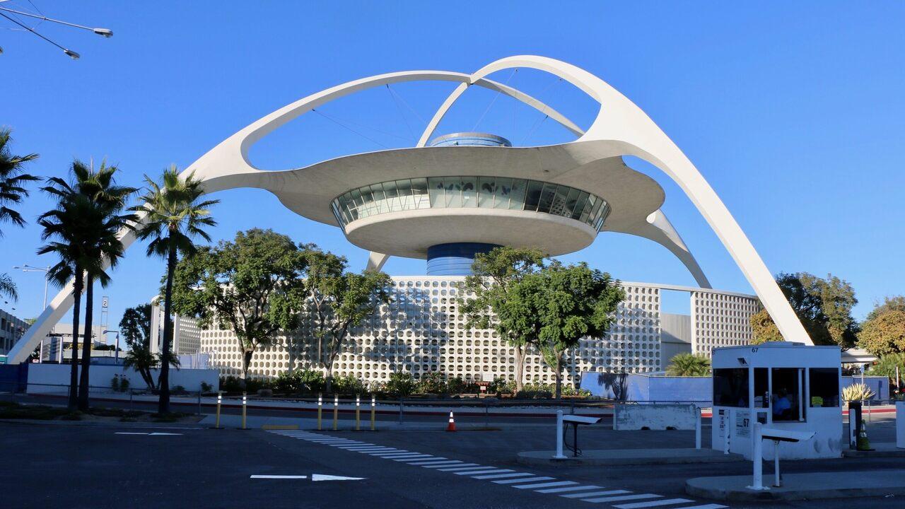 LAX's Theme Building.