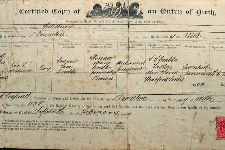 How the Birth Certificate Became a Ticket to Society - Atlas Obscura