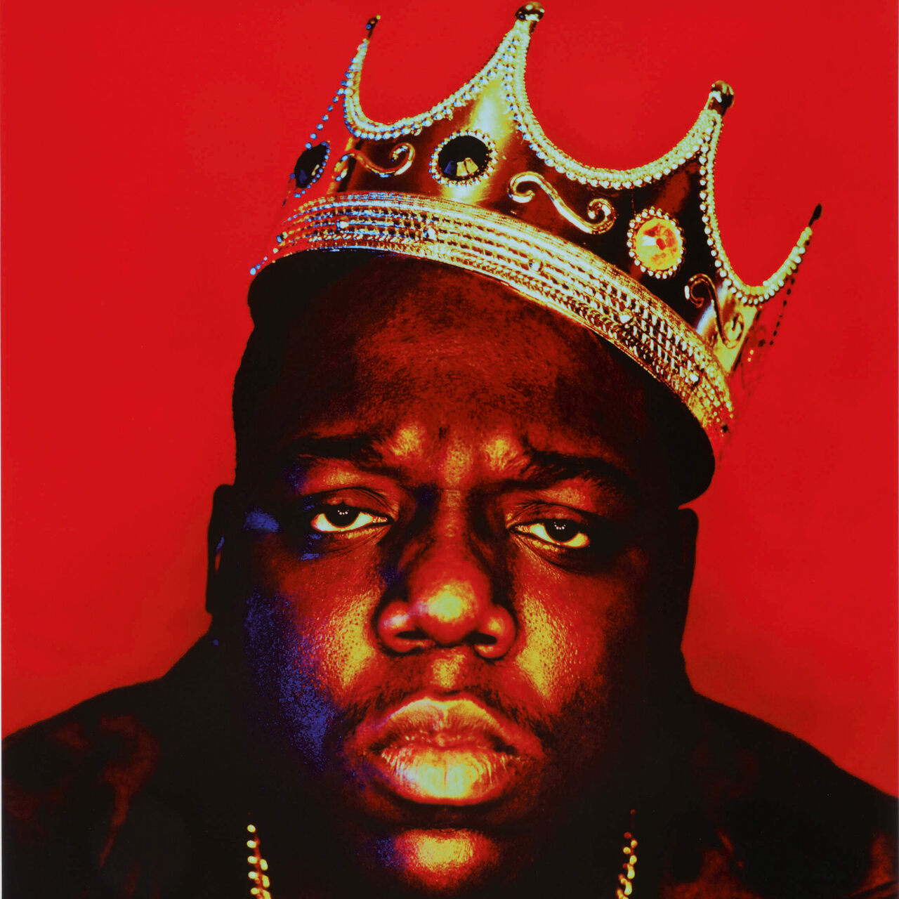 "The Notorious B.I.G. as the ""King of New York."""