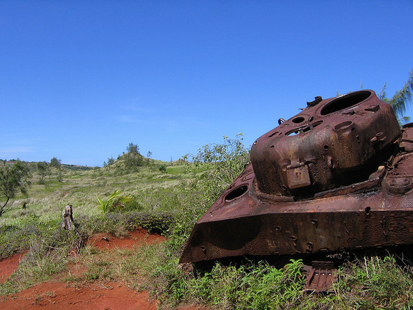 Found A Wwii Tank Left Underwater Since A U Boat Attack