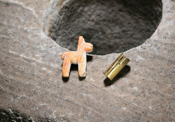 Found: A Miniature Incan Llama at the Bottom of Lake Titicaca