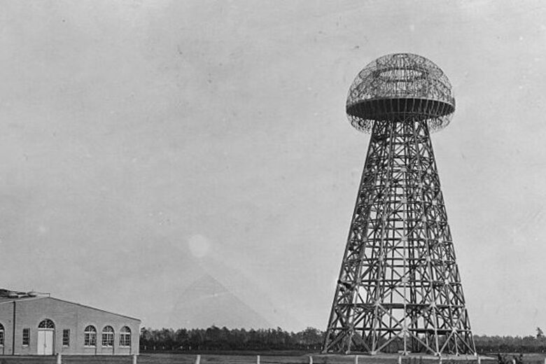 Nikola Tesla Built a Giant Tower to Send Wireless Electricity Around the World