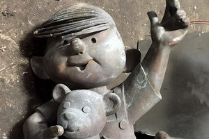 FOUND: Who Does This Dennis the Menace Statue Belong To?