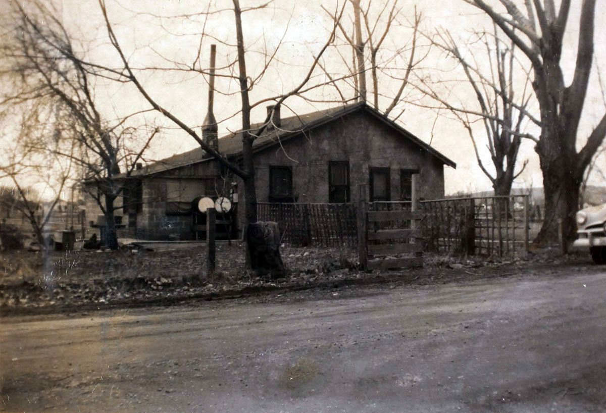 The house at 5015 Eugene Street in Boise, Idaho, c.1940.
