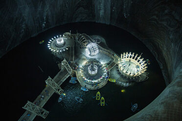 Romania's Salina Turda caverns are among our readers' favorite caves.