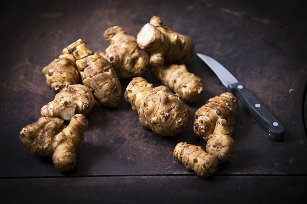 Jerusalem artichokes are easy to grow, but hard to peel and hard to stomach, for those with memories of hardship.