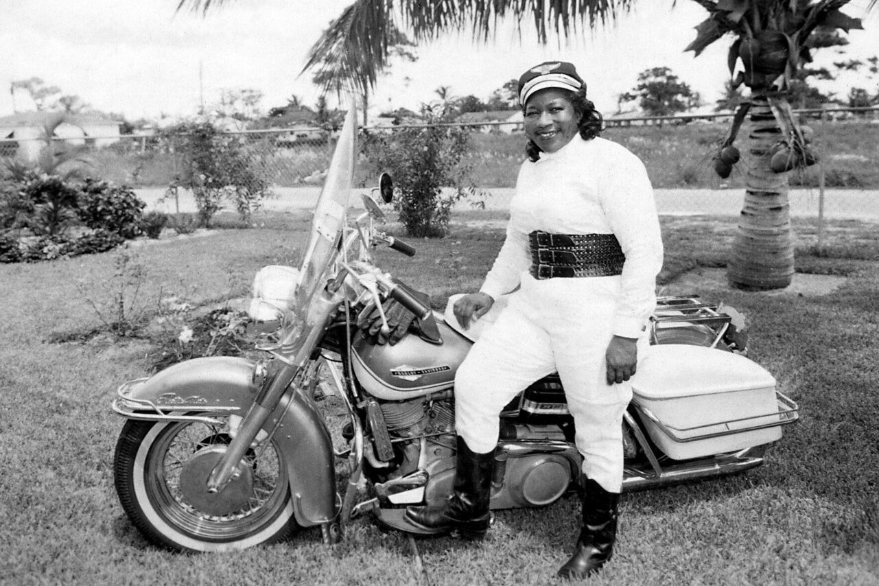 """Bessie Stringfield, """"The Motorcycle Queen of Miami."""""""
