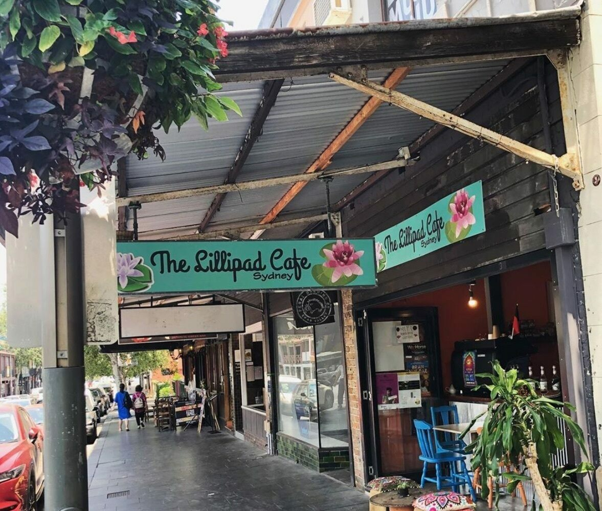 The Sydney outpost of the Lillipad Cafe.