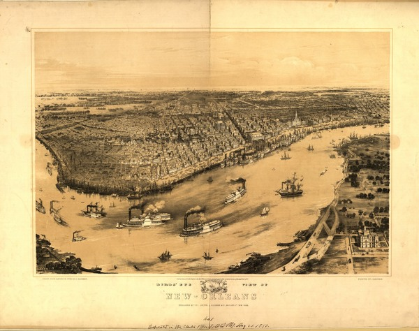 For 15 Years New Orleans Was Divided Into Three Separate
