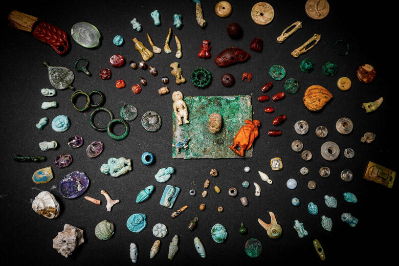 Found: A Stash of Mystical Charms and Amulets in Pompeii