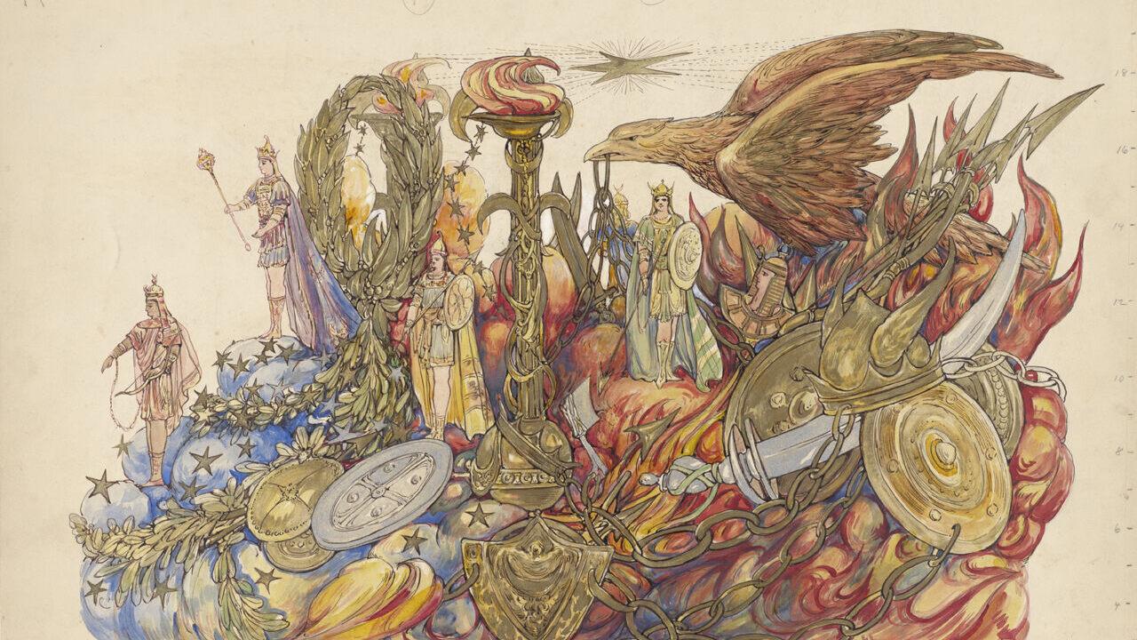 The Forgotten Female Artist Whose Mardi Gras Fantasias Warped Reality Atlas Obscura