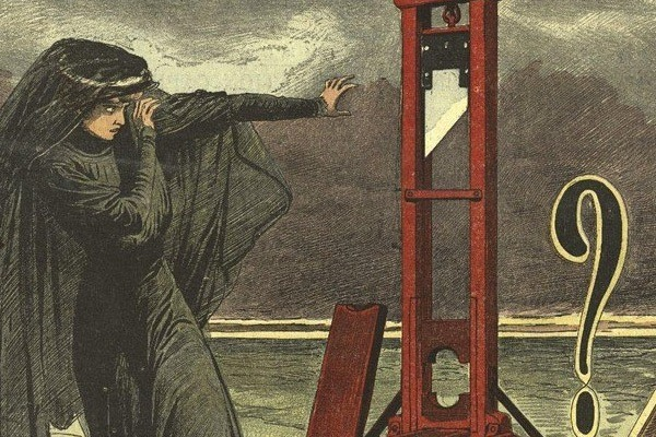 French Kissed By The Guillotine Atlas Obscura