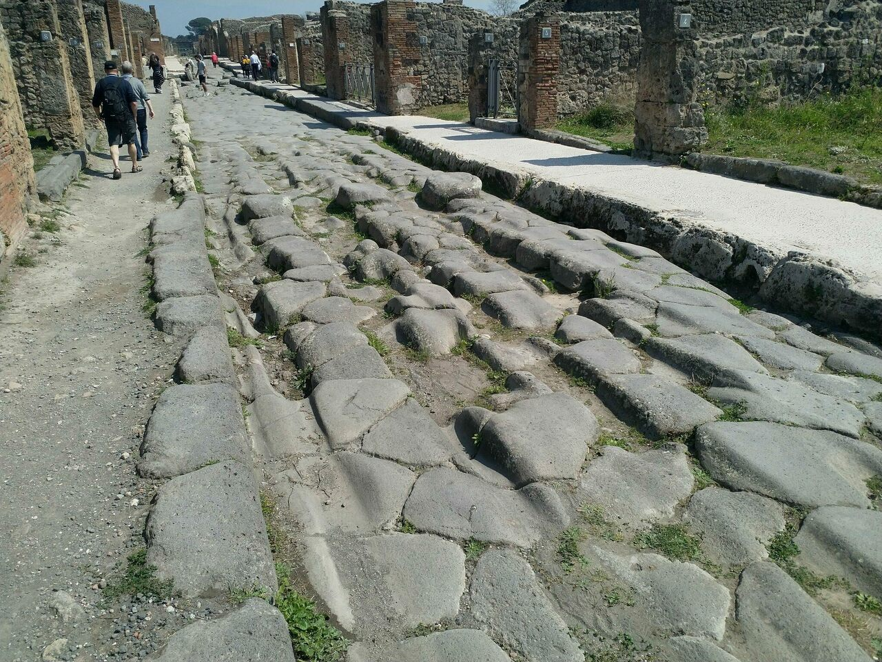 Visitors to Pompeii might pluck potsherds from the ground as souvenirs, but later come to regret it.