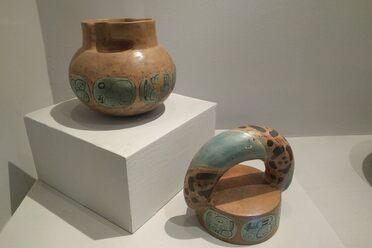 The vessel is now in the collection of the Museo Nacional de Arqueología y Etnología in Guatemala.