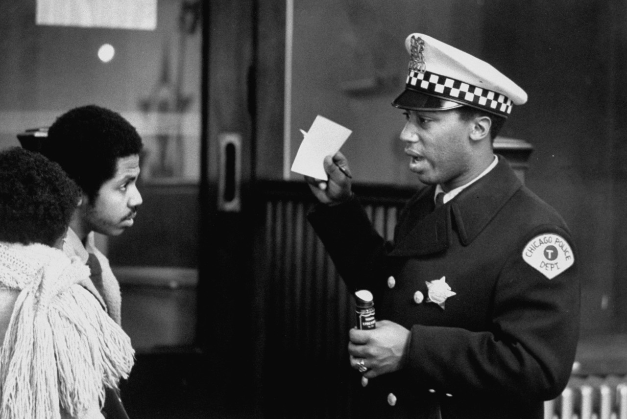 Chicago policeman Renault Robinson in 1970.