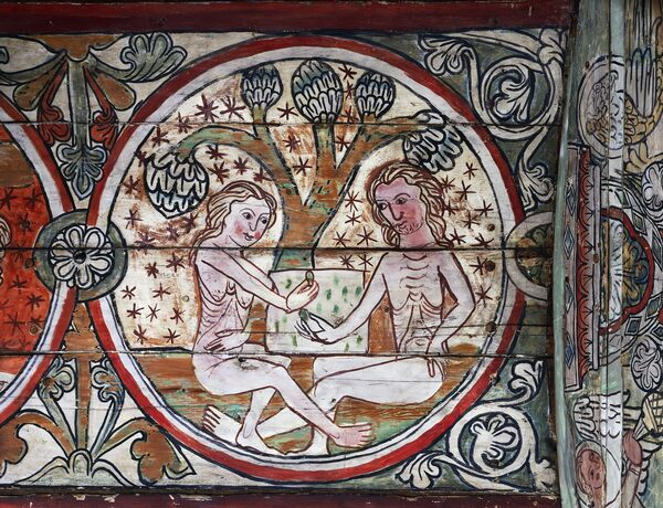 Does This Medieval Fresco Show A Hallucinogenic Mushroom in the Garden of Eden?