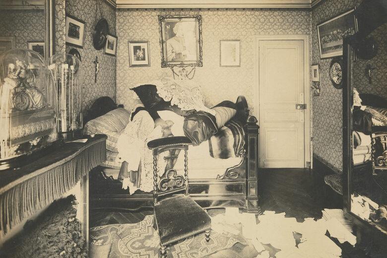 The Intimacy of Crime Scene Photos in Belle Epoque Paris