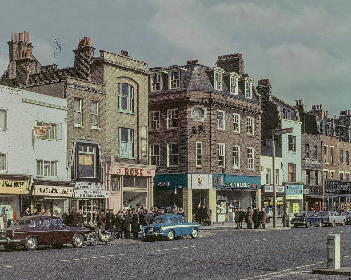 Whitechapel Road, 1965.