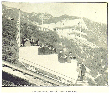 The Incline, Mount Lowe Railway