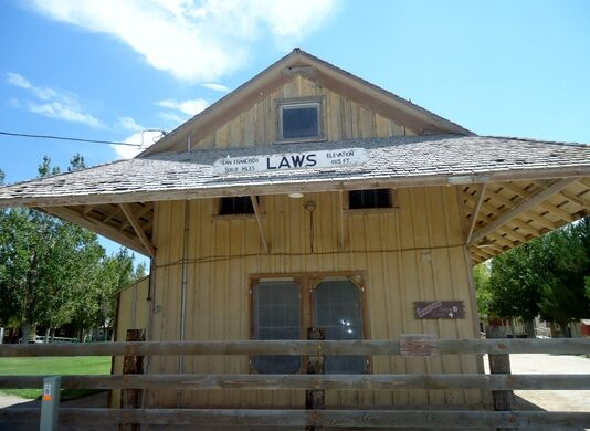 The original station house of Laws