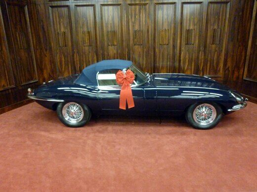 1967 Jaguar XK-E 4.2 E-Type Roadster, in the Museum