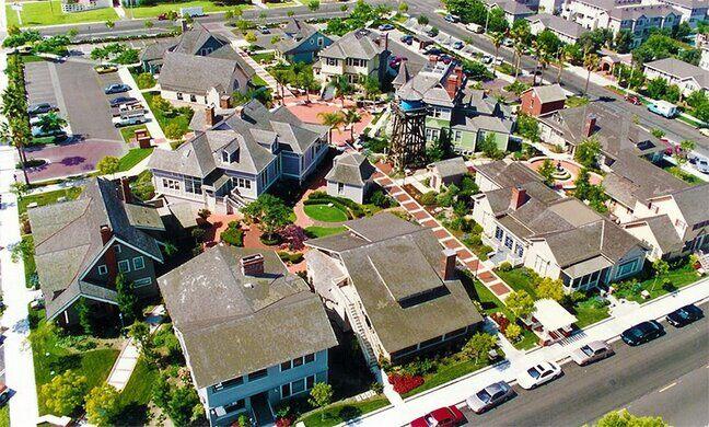 Heritage Square aerial